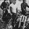 "Racers, McHenry, Illinois"" from The Bikeriders by © Danny Lyon, ca. 1963-66"