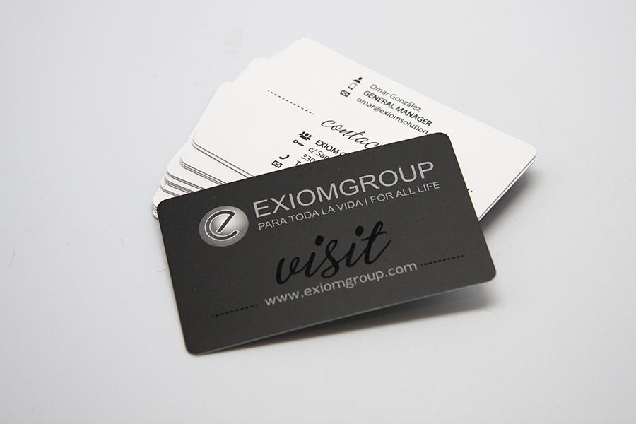Tarjetas de visita - Exiom Group